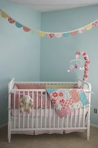 my best friend's nursery! SO adorable.