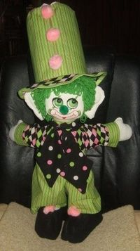 Handmade Bashful Pete Carmon Clown