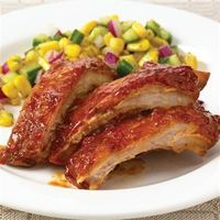 Slow Cookers Southern BBQ Ribs: These pork ribs are sweet and tangy and oh so tender.