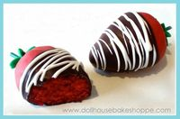 Chocolate Dipped Cakeberries