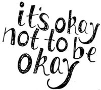 It's okay not to be okay./ Sometimes it's hard to follow your heart./ But tears don't mean you're losing, everybody's bruising,/ There's nothing wrong with who you are! ~Jessie J