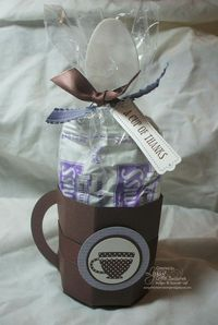cocoa cup tutorial - Stampin Up