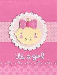too cute baby card