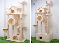 with a cat litter box hide a way! yes!
