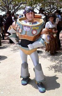 Steampunk Buzz Lightyear