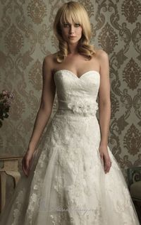 Allure 8858 http://www.missesdressy.com/8858-lace-applique-with-satin-band-dress-allure-bridals-p-22408.html