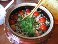 santa fe black bean couscous