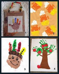 cute thanksgiving gifts for fam...LOVE their tiny handprints!