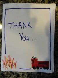 Fire fighter thank you!