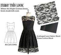DIY lacy dress. Of course I don't know how to sew, but I love this look!