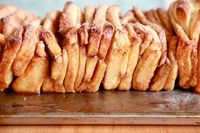 Cinnamon Sugar Pull-Apart Bread (finally a pull apart bread recipe thats from scratch and not frozen puff pastry!)