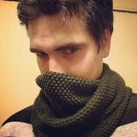 A Manly Mossy Cowl