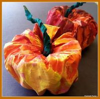 PAINTED PAPER: Pumpkins at the Fair