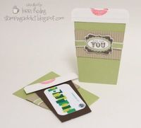 gift card holder for anytime...cute
