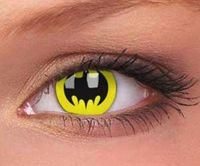 Batman contact lense