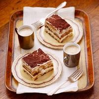 This classic tiramisu gets a boost of flavor from the hazelnut liqueur but you could omit it and still have a delicious dessert.