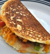 Cornbread Omelets (not just for breakfast!!) (Southern Plate)