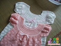 Precious Angel Dress free tutorial and crochet graph pattern - this one has the graph for the ring collar part of the dress # Pinterest++ for iPad #