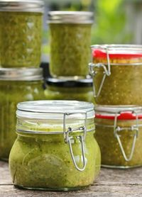 Tomatillo Salsa Verde; This salsa verde recipe is unique because it contains Avocados as well as Tomatillos.