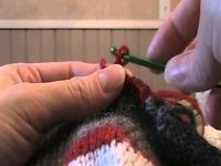 Sock Monkey Hat trim instructions