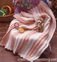 Baby Ripple Afghan Free Pattern | Free Crochet Patterns & Free Knitting Patterns Doily Towel Edge Patterns crochê lace)