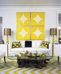 I want this rug! http://blog.livelikeyou.com/?tag=yellow-zig-zag-rug