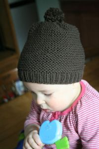 baby brewer hat pattern - sized from newborn through child)