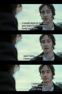 Pride and Prejudice. Favourite scene