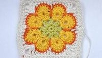 "How to Crochet * Granny Square ""Somalia"" * African Flower * Paperweight, via YouTube."