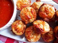 Comfy Cuisine: Pepperoni Pizza Puffs