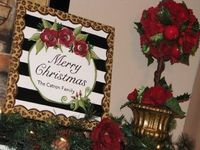 Custom Christmas Canvas - painted by