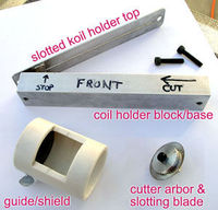 how to use a Koil Kutter to cut your jumprings