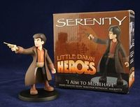Little Damn Heroes Malcolm Reynolds cartoon maquette. #josswheden #firefly #scifi