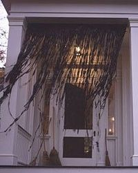 witches curtains
