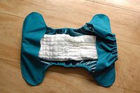 how to make a flip style diaper cover