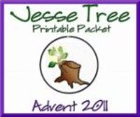 picture regarding Jesse Tree Ornaments Printable identified as No cost printable Jesse Tree ornaments and devotions for