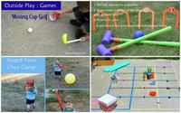 Games to play with the kids (not board games... homemade games!)