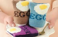 A quirky knitting project: Egg Cosies
