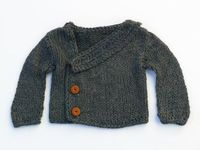 Grey Boy Sweater by evahandmade