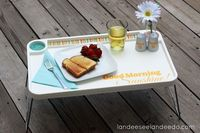 Landee See, Landee Do: IKEA Hack Breakfast Tray