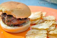 Grilled Turkey Ranch Burgers - the best burger you've ever tasted!