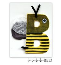 Buzzy Bee Craft - Bug Week