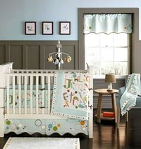 MiGi ABC 3pc Crib Bedding Set