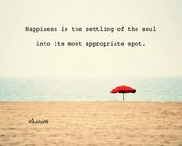 Happiness is the settling of the soul into its most appropriate spot. #inspirationalquotes #inspirationalmessages #inspiringquotes #inspire #laurenshopeid #laurenshope