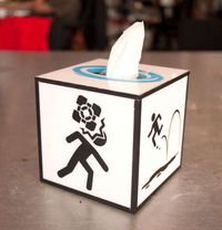 Portal Tissue Box - Instructables.com