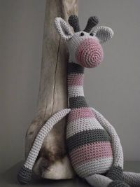 Crochet giraffe at its finest (inspiring)