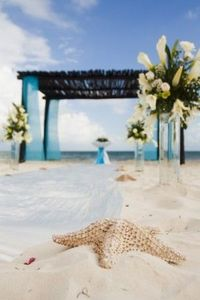 Destination wedding decor at #SecretsResorts
