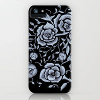 Retro Roses iphone case by Catherine Holcombe
