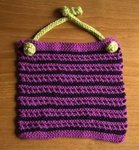 bib/washcloth/dishcloth pattern
