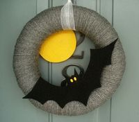 DIY Halloween Wreaths ~ Be Different...Act Normal